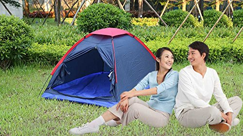 DIDEMI Outdoor Camping Polyester Fiber Tent Fiberglass Pole for Two Persons with Bag for Picnic Travel Hiking Adventure by DIDEMI