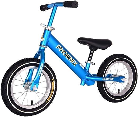 Bicicleta sin pedales Bici Bicicletas de Equilibrio Azules/Rojas ...