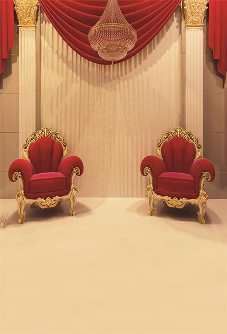 Amazon Com Aofoto 6x8ft Wedding Background Luxury Red Velvet