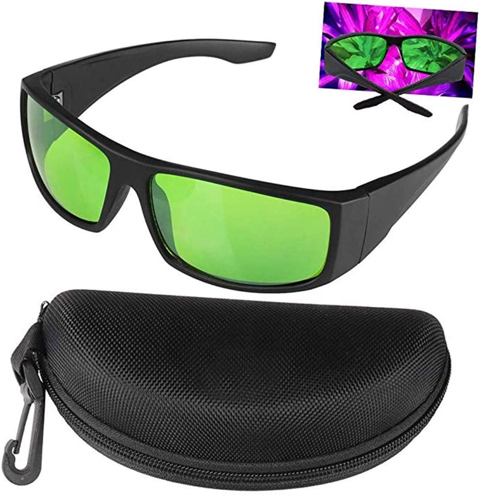 Ruosaren Plant Grow Room Glasses Professiona Eye Protection led Goggles for Indoor Plant Growing