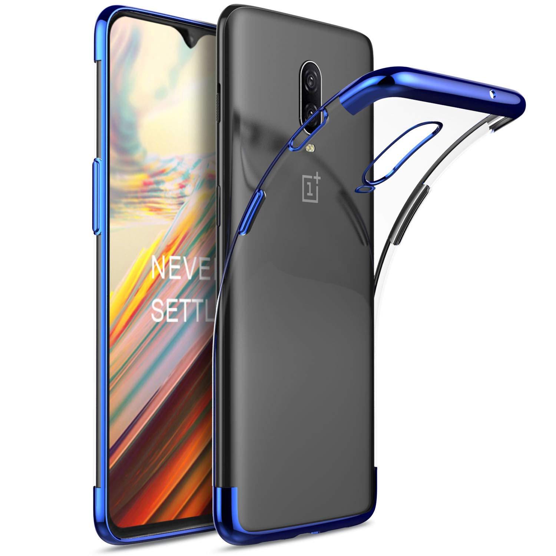 Oneplus 6t case, KuGi Oneplus 6t case,[Scratch Resistant] Premium Flexible Soft TPU Case for Oneplus 6t Smartphone(Clear) Vostrostone
