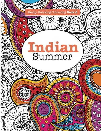 Indian summer adult coloring books vol 6 Coloring books for adults india
