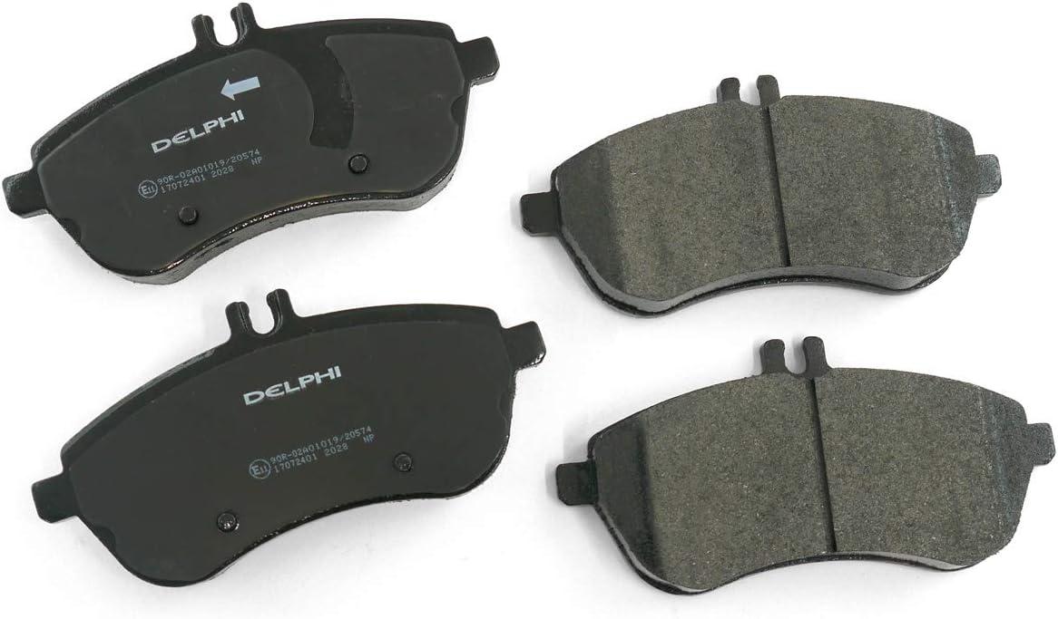 Car Brake Pads >> Delphi Lp2028 Car Brake Pads Amazon Co Uk Car Motorbike