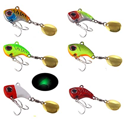 Paillette trout mini Fishing metal Lures Treble Hook Crank Bait Spoon Spinner