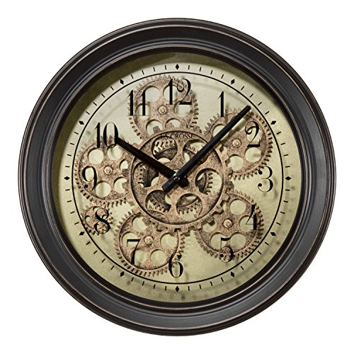 Lacrosse Metal Clock - nice industrial style home decor