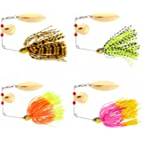 FREE FISHER 6 Fishing Hard Spinner Lure Spinnerbait Pike Bass 18g/0.63oz T11