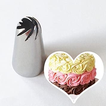 Amazon Com Littlepiano Pastry Tube Cream Icing Piping Tips Nozzle