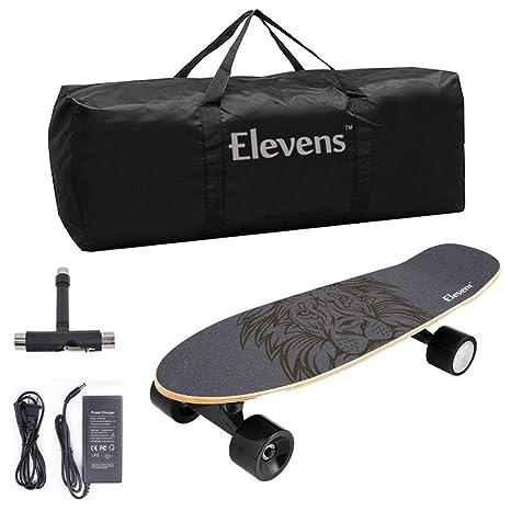 Amazon.com: Longboard eléctrico 10 mph 10 millas, 120 W ...