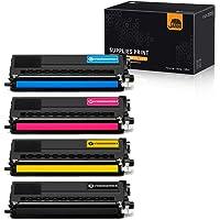 JARBO - Cartuchos de tóner compatibles con Brother TN336 TN-336 TN331 TN-331 de Alto Rendimiento, 1 Juego, para impresoras Brother HL-L8350CDW HL-L8250CDN HL-L8350CDWT MFC-L8600CDW MFC-L8850CDW