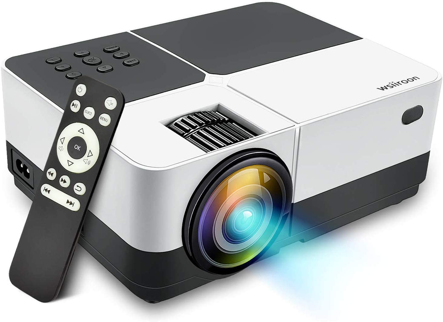 2. Wsiiroon 2019 LED Newest Projector
