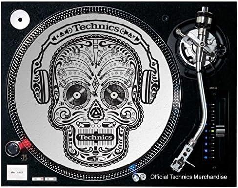 Technics Slipmat MSKULL Tocadiscos: Amazon.es: Instrumentos musicales