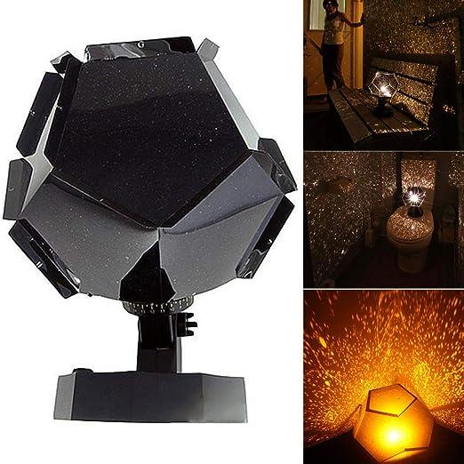 JklausTap proyector de Luces de Estrella proyector de luz Nocturna ...