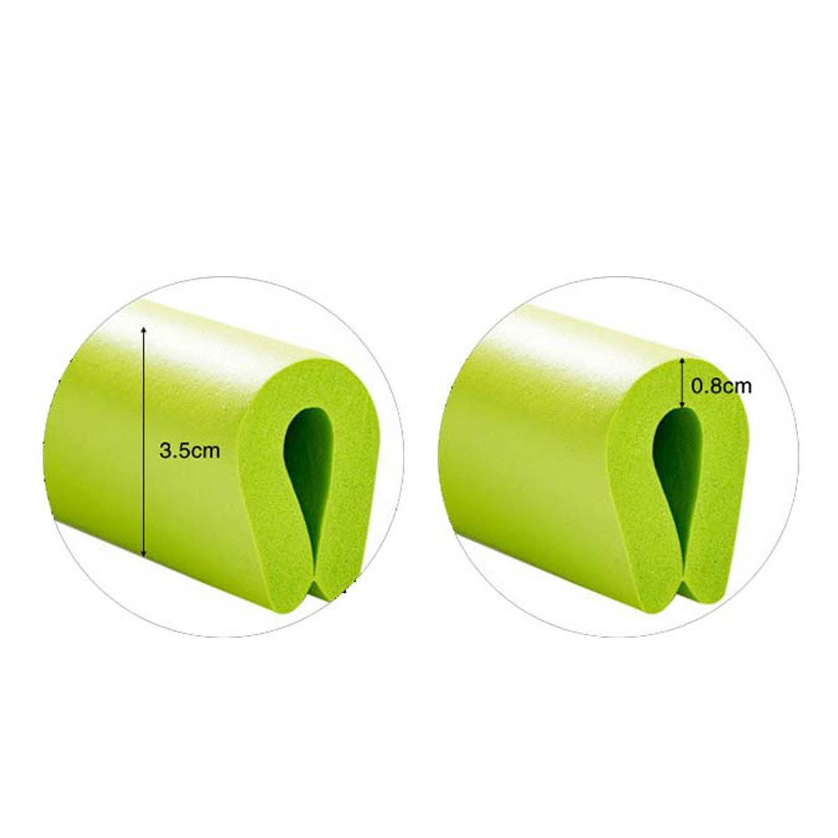 Ancdream Protector 2m Esquina Mesa Mueble Antigolpes Seguridad para Ni/ños Beb/é