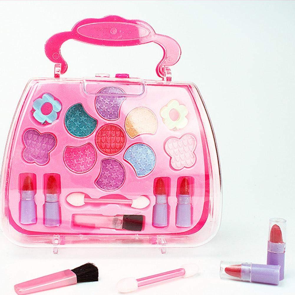 Amazon.com : My First Makeup Set, Girls Makeup Kit,Children's Princess Makeup Box Toy, Safe Non-Toxic Girl Makeup Kit Toy : Baby