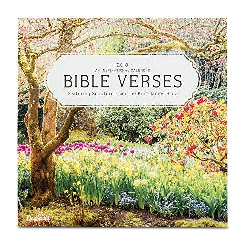 Bible Verse Calendar (2018 Wall Calendar - Beautiful Scenery - Bible Verses)