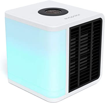 Evapolar Personal Evaporative Air Cooler and Humidifier Portable Air Conditioner, White