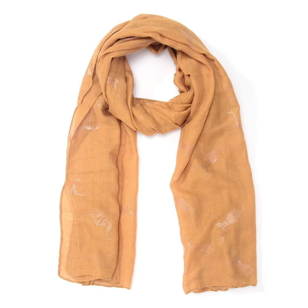 Jonecal Winter Infinity Scarves Women Fashion Animal Pattern Scarf Long Soft Wrap Shawl