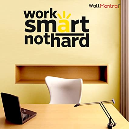 Buy Wallmantra Motivational Office Quote Wall Sticker/Self Adhesive ...