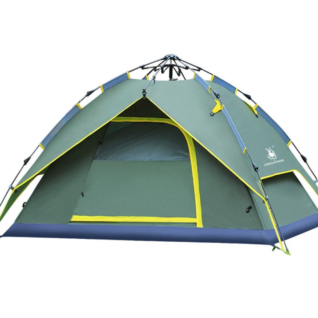 Outdoor Zelt, Fansport 3 Person Automatische Winddicht Regendicht Camping Zelt für Reisen