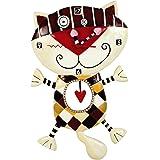 Enesco Enesco Michele Allens - Reloj infantil, diseño de gato
