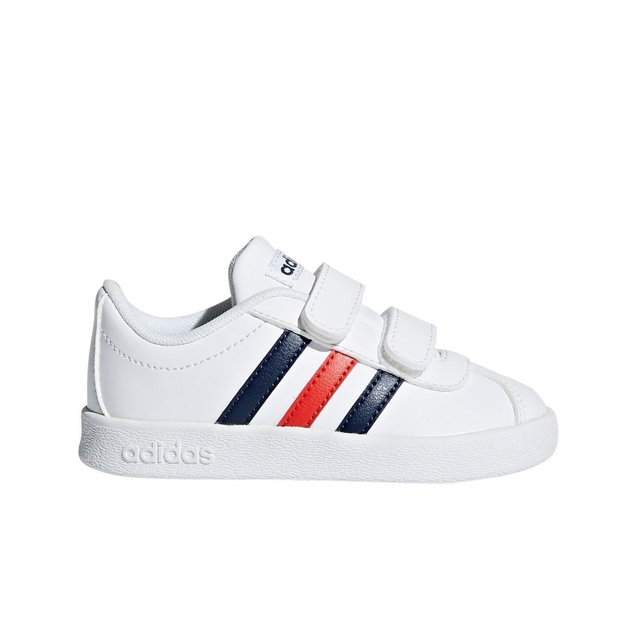 Zapatilla Adidas VL Court Niã±o Adidas VL Court 2.0 CMF I 23 EU DB1840