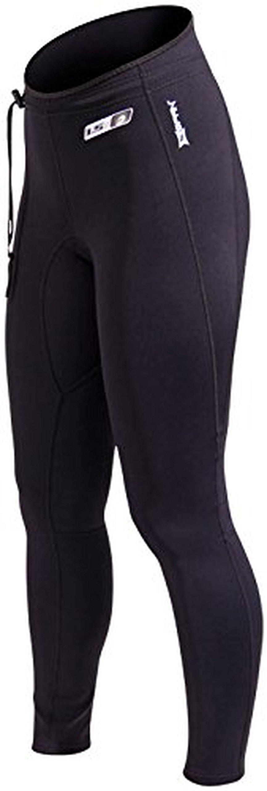 Neosport Unisex XSPAN 1.5mm Pants Black M and Travel Sunscreen (15 SPF) Spray Bundle