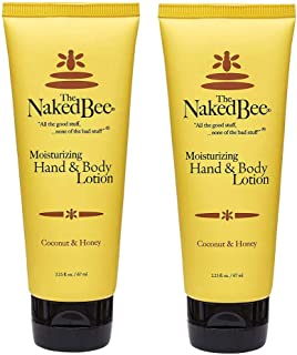 product image for The Naked Bee Coconut and Honey Hand & Body Lotion 2.25-ounce Two Pack / 2 x 2.25 ounces