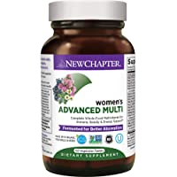 New Chapter Women's Multivitamin + Immune Support, Women's Advanced Multi (Formerly...