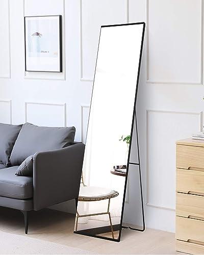 Iron Frame Modern Design-63″ x 16″ Full Length Mirror