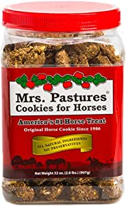 Mrs Pastures Cookies for Horses - Premium All Natural Treats - USA Made (32 oz)