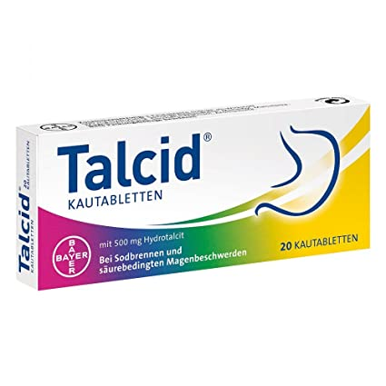 Bayer Vital talcid kautabl.