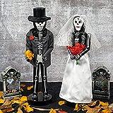 FUNPENY Halloween Decorations, Wooden Nutcracker