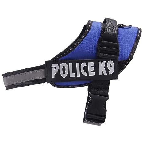 WYXlink K9 Arnés de policía para Perros, Ajustable, Transpirable ...
