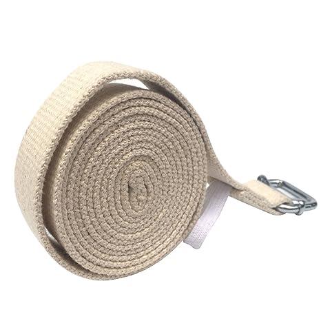 pushfocourag - Correa elástica para Yoga y Yoga, de algodón ...