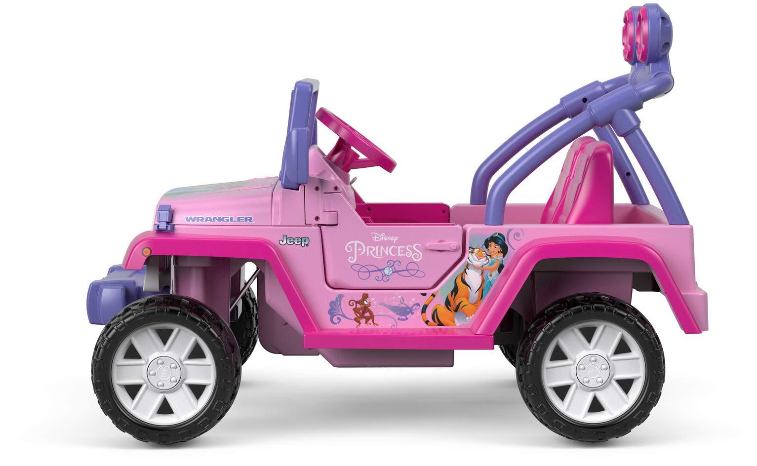 Power Wheels Disney Princess Jeep Wrangler Santabilt