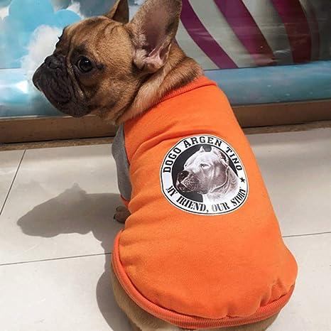 TYJY Ropa de Invierno para Perros Bulldog Francesa Ropa para Perros y Mascotas Ropa de Moda