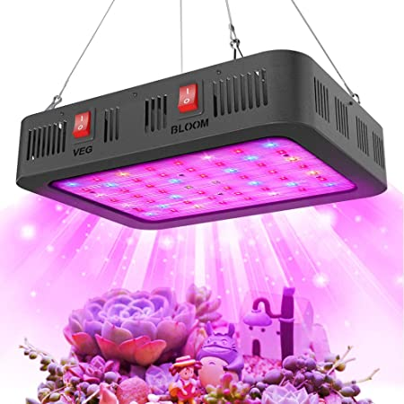 LED Grow Light Panel Hydroponic Kit Full Spectrum Vegetable Flower Bud Blooming