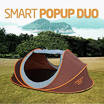 Image Unavailable & Amazon.com : Smart Pop-up Duo Easy Setup tents Outdoor 4 Person ...