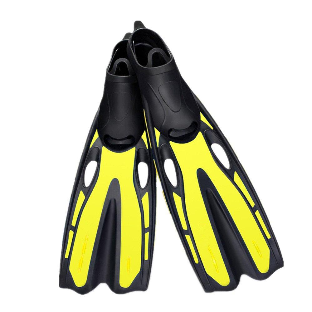 スイミング、スノーケリング、水泳用の軽量スイミングフィンダイビングフィン (色 : ピンク, サイズ : XS) B07F9J77QZ 黄 ML ML|黄