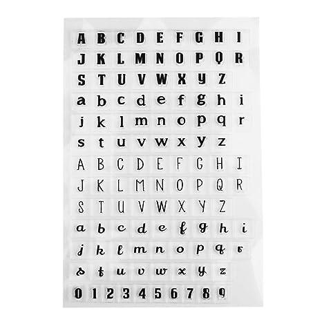 Vanpower clair Album DIY Agenda Coque en silicone Stamp ...
