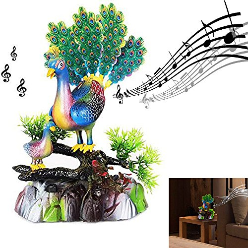 Singing and Dancing Animal Peacock Bird Toy   Toy Cubby Nostalgic Awesome Battery Operated Party Favor Decoration. Birthdays   Graduations   Party (Music Centerpiece Ideas)