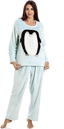 Conjuntos de Pijama de Personaje de Lana Polar súper Suave y cálida para Mujer