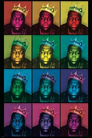 Notorious BIG - Pop-Art- König Poster Drucken (60,96 x 91,44 cm)