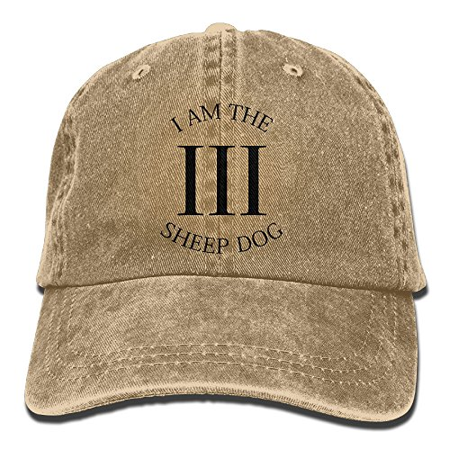 I Am The Sheep Dog 3 Percenter Baseball Hat Men And Women Summer Sun Hat Travel Sunscreen Cap Fishing ()