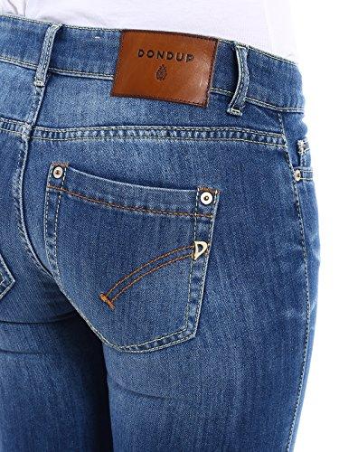 Blu P692ds107dp51pdh800 Donna Cotone Dondup Jeans gZ7qII