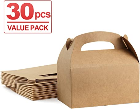 Amazon.com: ValBox - Cajas de regalo de papel kraft marrón ...