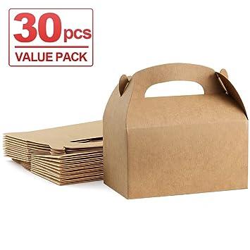Amazon.com: ValBox - Cajas de regalo de papel kraft marrón ...