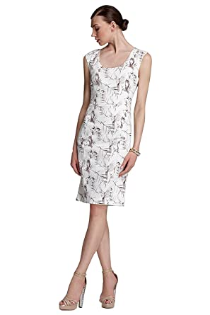 Rachel Roy Skull Bird Print Cocktail Sheath Dress At Amazon Womens