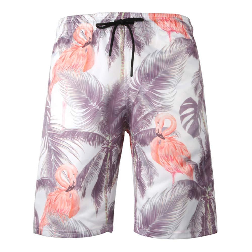 zbinbin Pantalones De Playa Pantalones De Impresión 3D para Hombre ...