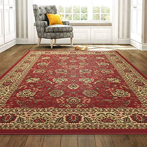 Ottomanson Ottohome Collection Persian Style Rug Oriental Rugs, 8